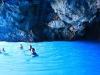 Bagno nella Grotta Azzurra